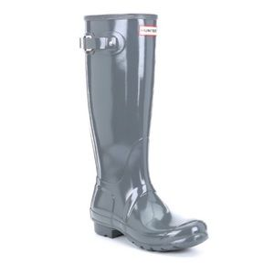Hunter Tall Gloss Feather Rain Boots